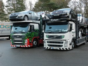 A significant number of new vehicles built in the UK are exported overseas