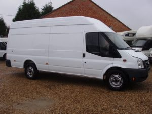 The Ford Transit van is one of the top 5 sellers in the UK for the month of August 2017.
