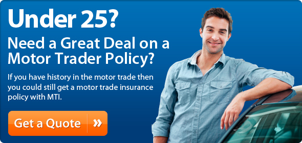 Under 25 Motor Trader Cover Policy